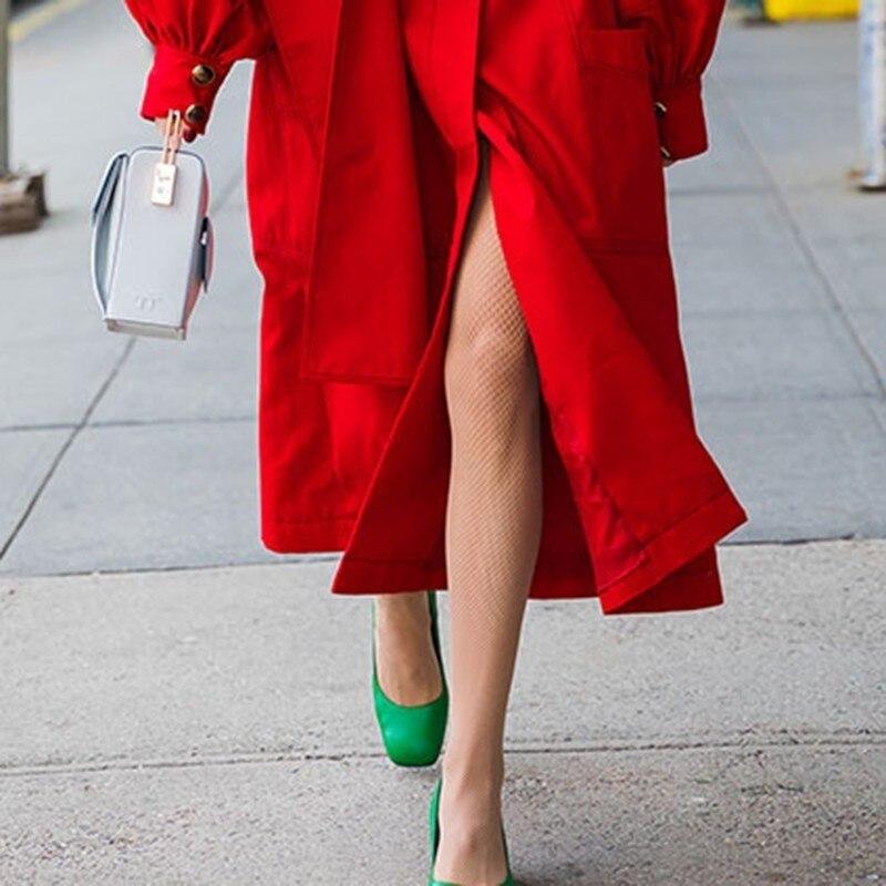 Rouge vent Manches Printemps Mode Large De Coat Retour Lanterne Longues Split  Femme Coupe Shengpalae Femmes Tranchée Fi456 2019 À Red Ceinture Manteaux  ... b7405acec38