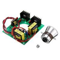 110V 50W Ultrasonic Generator Power Supply Module + 1pc 40K Ultrasonic Transducers Vibrator