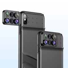 Cases with Wide Angle Macro Fisheye Lens For iPhone Xs Max Coque Phone Camera Fish Eye Lenses For iPhone Xr Webcam Slider Cover цена