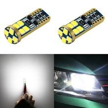 1 Piece Car Styling Auto Led T10 194 W5w 2835 Smd 12 Light Bulb Wedge License Plate lamp