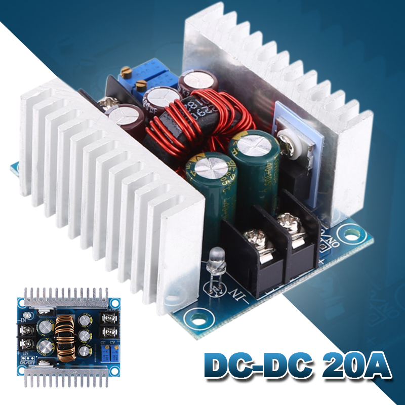 Module Constant-Current-Buck-Converter Voltage Dc-Dc 20a Adjustable High-Power