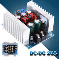 DC-DC 20A High Power Adjustable Constant Current Buck Converter Buck Module Constant Voltage Charging Module