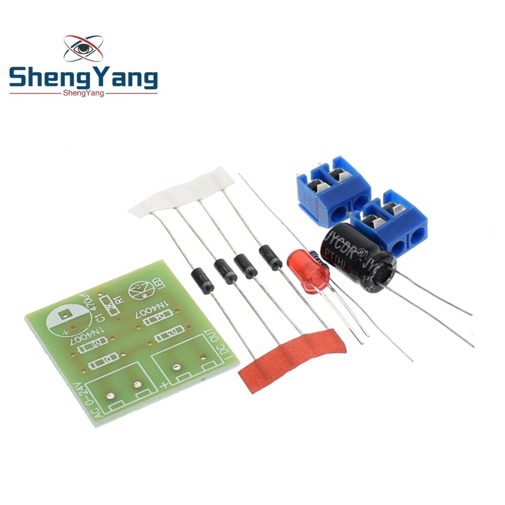 Detail Feedback Questions About Shengyang 1n4007 Bridge Rectifier Ac Voltage Power Filter Regulator Modulein Integrated Circuits To Dc Converter Full Wave Board Module Diy Kit On Alibaba