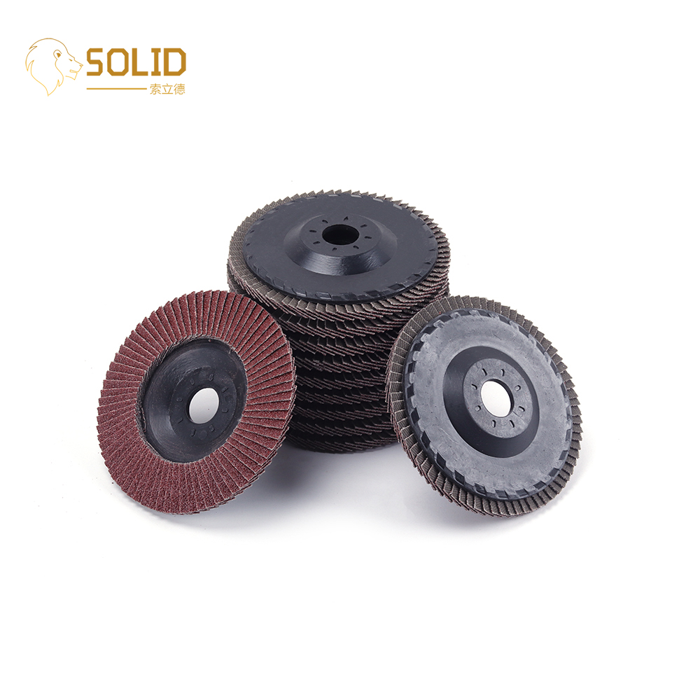 4 Inch 60~320# Flap Disc Sanding Grinding Wheel Abrasive Tool For Angle Grinder Polishing Stainless Steel And Metal 10Pcs