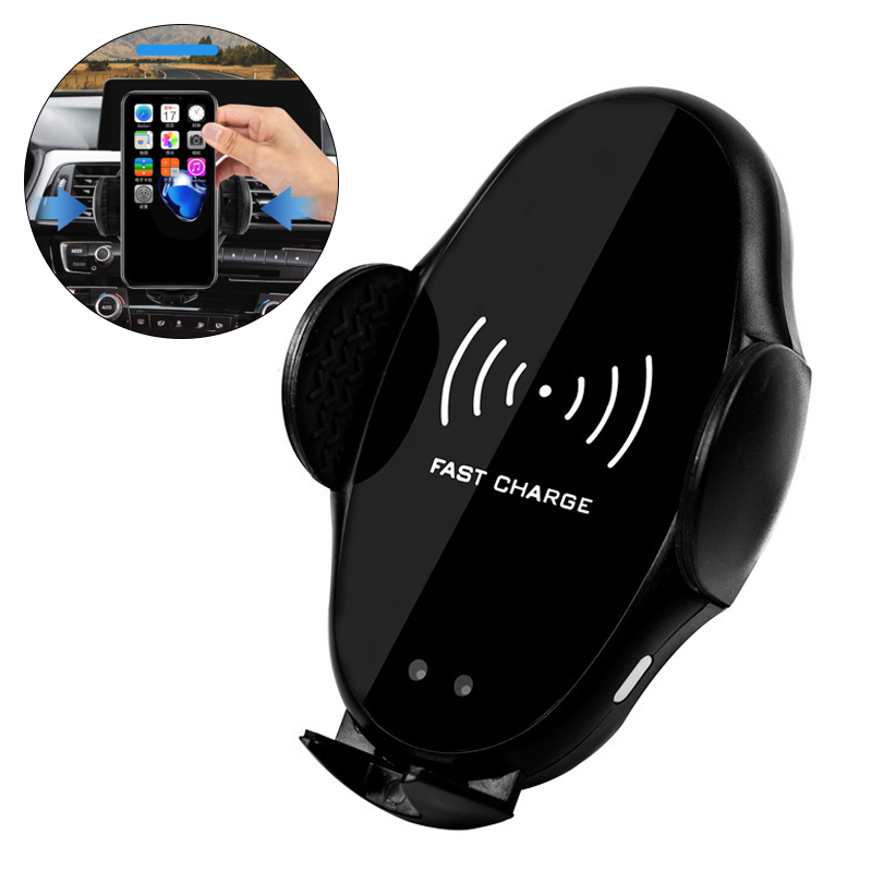 Car Wireless Charger Infrared Automatic Qi Phone Navigation Holder Bracket