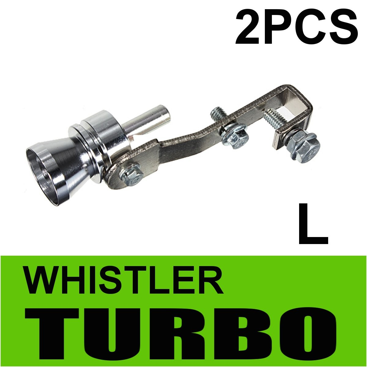 2Pcs Universal Car Fake Turbo Sound Simulator Whistler Muffler Exhaust Pipe Blow Off Valve Bov Simulator Size L2Pcs Universal Car Fake Turbo Sound Simulator Whistler Muffler Exhaust Pipe Blow Off Valve Bov Simulator Size L