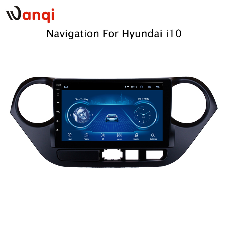 9 inch Android 8.1 full touch screen car multimedia system For Hyundai i10 2013-2016 car gps radio navigation9 inch Android 8.1 full touch screen car multimedia system For Hyundai i10 2013-2016 car gps radio navigation