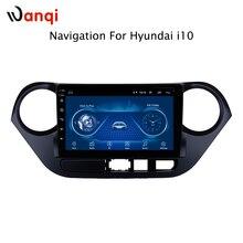 9 дюймов Android 8,1 полный сенсорный экран Автомобильная Мультимедийная система для hyundai i10 2013-2016 Автомобильный GPS Радио Навигация