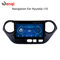 9 inch Android 8.1 full touch screen car multimedia system For Hyundai i10 2013 2016 car gps radio navigation