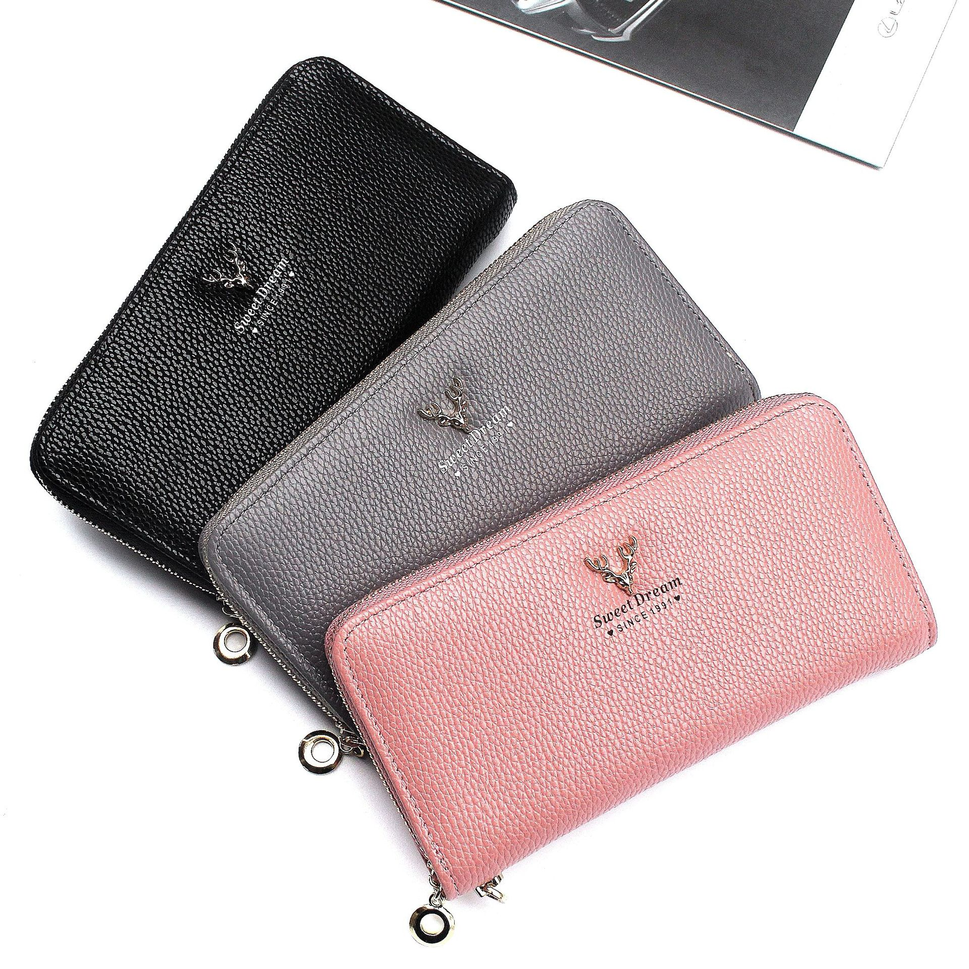 Ladies Faux Leather Owl Couple Zip Small Coin Purse Womens Wallet Card Holder