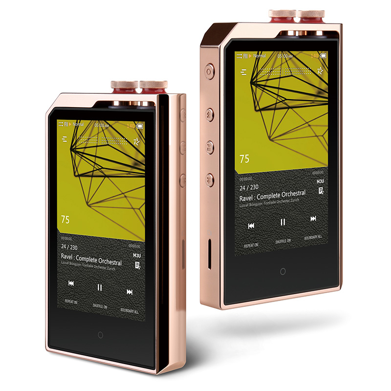 Cowon PLENUE PL Lossless 256GB 3.7' HIFI Music DSD256 USB DAC AI Audio Dual Core MP3 High Resolution Portable Music Player MP3