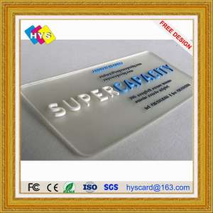 Embossed-Card Plastic-Card Printing Code Business-Card/barcode High-Quality