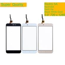 10Pcs/lot ORIGINAL For Xiaomi Redmi 5A Redmi5A Desh Ka Touch Screen Digitizer Panel Sensor Front Outer Glass Touchscreen