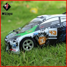 Hot Sales WLtoys WL A989 1:24 4 Channels Top Speed 25KM/H Remote Control RC Car Super 100% Original for children Gifts ZLRC цена