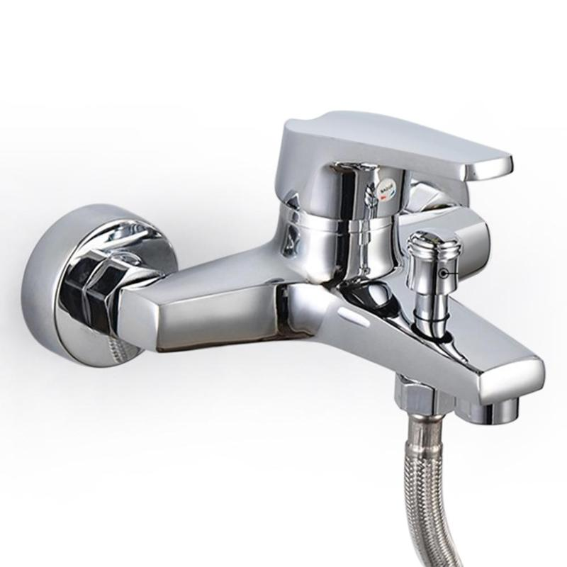 Bath Shower Faucet Mixer Valve Control Water Taps Waterfall Shower Head Faucet Tap