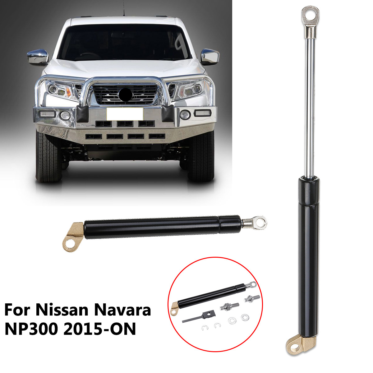 1 Pcs Traseiro Trunk Gas Strut NP300 Liftgate Bagageira Fácil Desacelerar Para Nissan Navara 2015 2016 2017 2018 2019