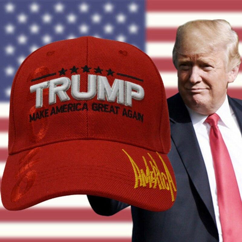 Hat Great Again Keep-America Letter-Hat Baseball-Caps Trump Women New