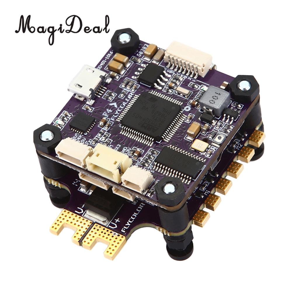 MagiDeal X-Tower F4 Flight Controller 32 Bits 4in1 ESC Built-in OSD CS BEC Dshot1200