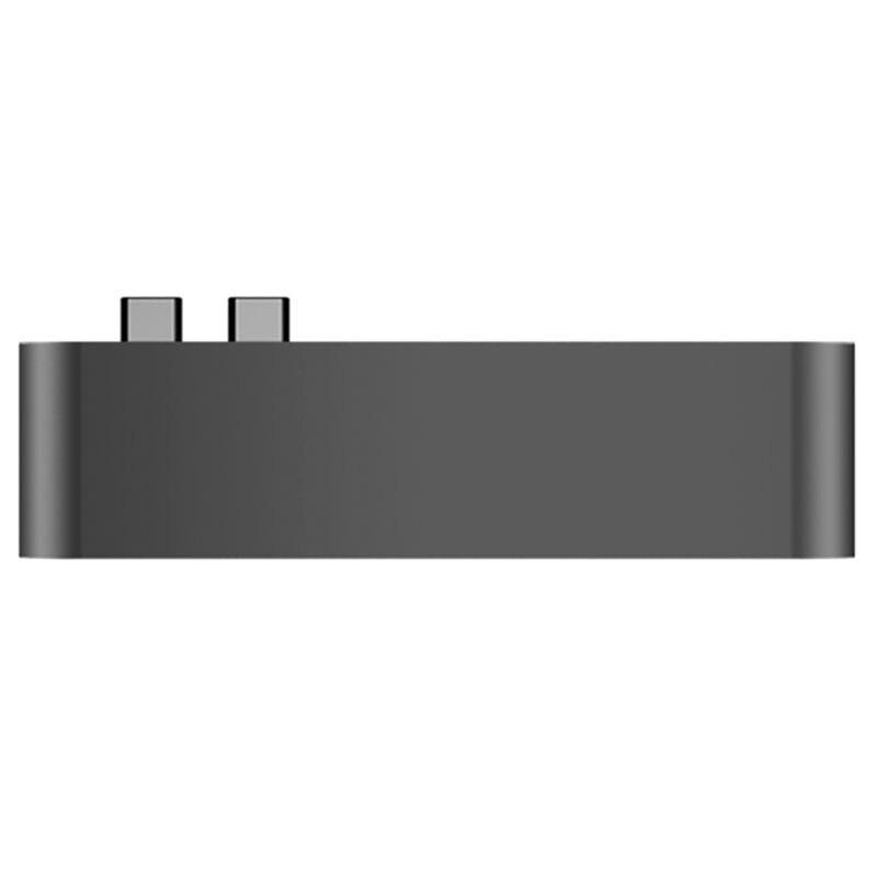 Type C à USB 3.0 HUB HDMI HD 4 k adaptateur répartiteur usb 3.0 HUB Thunderbolt type-c HUB pour 2016/2017 MacBook Pro