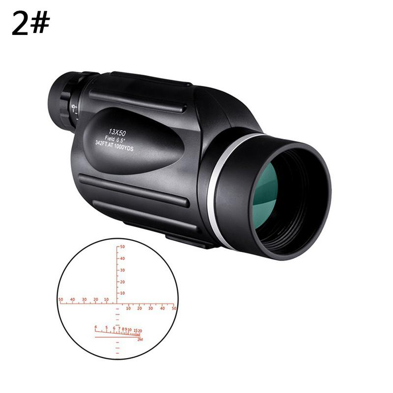 Image 5 - 13x50 HD Monoculars Waterproof Rangefinder Binoculars Telescope Monocular night vision monocular for Outdoor Hunting Travel Camp-in Monocular/Binoculars from Sports & Entertainment