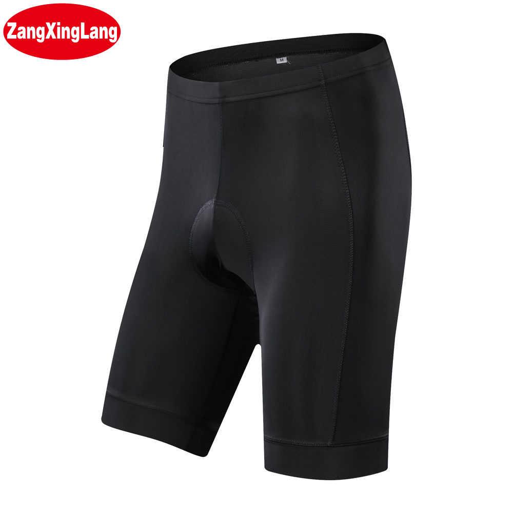 Zangxinglang Coolmax 5D Empuk Celana Pendek Bersepeda Shockproof MTB Sepeda Celana Sepeda Celana Pendek Ropa Ciclismo Celana Ketat untuk Pria Wanita