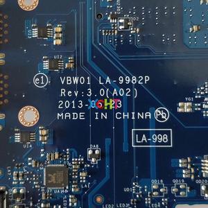 Image 5 - CN 0PJNNJ 0 PJNNJ PJNNJ LA 9982P w i3 4010U CPU per Dell Inspiron 15R 5537 3537 NoteBook PC Scheda Madre Del Computer Portatile Mainboard