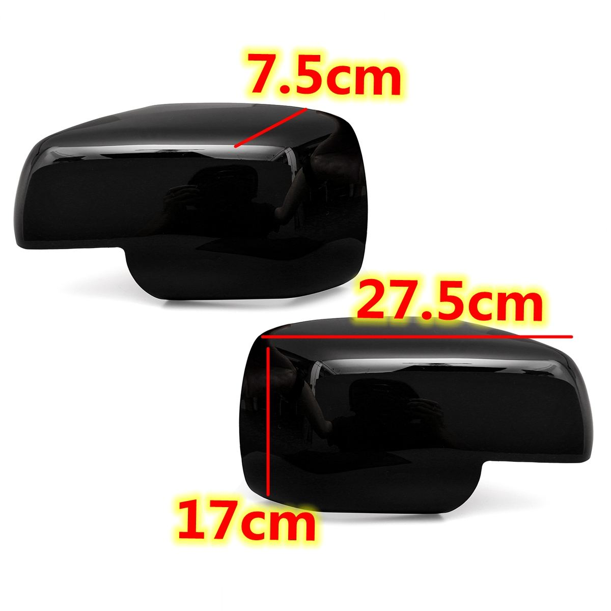 Pays Range Rover Sport 09-on Discovery-Passenger Side Wing Mirror Cover Black