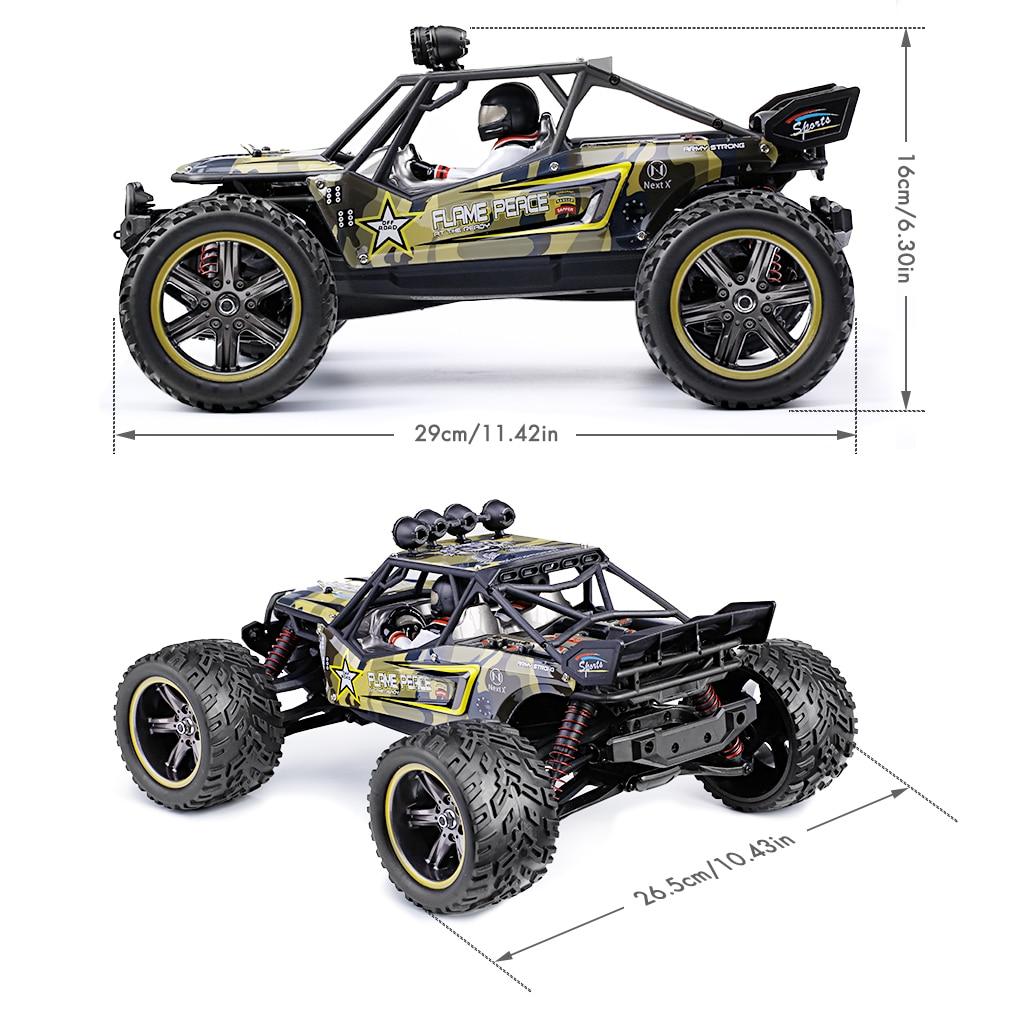 Chaud GPTOYS S916 RC voitures télécommandé camion 1/12 échelle 2.4 GHz 2WD étanche tout-terrain monstre voiture meilleurs cadeaux pour enfants adultes - 6