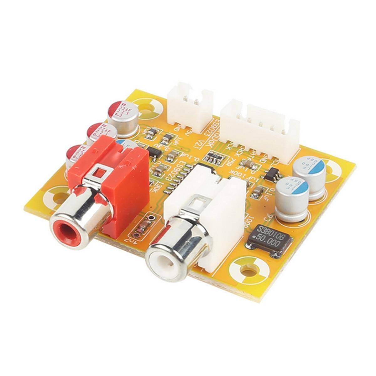 1PCS Audiophonics DAC Sabre ES9023 I2S vers Analogique 24bit//192KHZ Raspberry PI