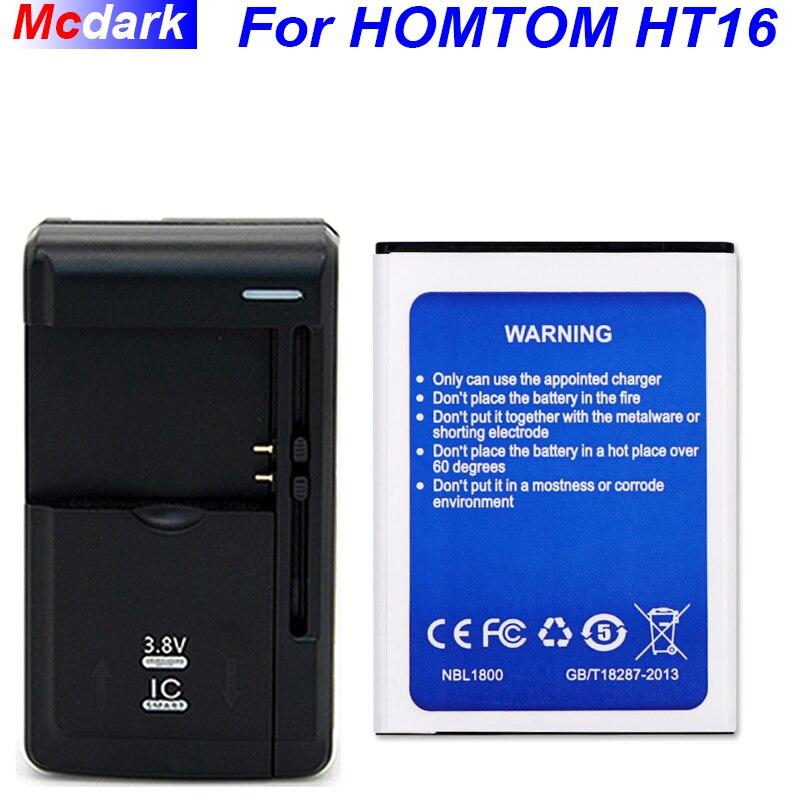 Para Homtom HT16 batería para Homtom HT16 Pro batería acumulador de AKKU 3000 mAh + cargador Universal