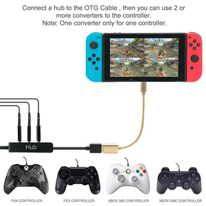 Image 3 - DOITOP Converter for Nintend Switch Controller Adapter For PS3/PS4/Xbox 360/Xbox One Wired Gamepad to N Switch OTG Cable