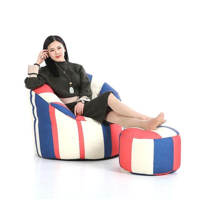 Kids Divano Pouf Sillones Copridivano Silla De Assento Single Bed Boozled Computer Chair Beanbag Puff Asiento Bean Bag Sofa