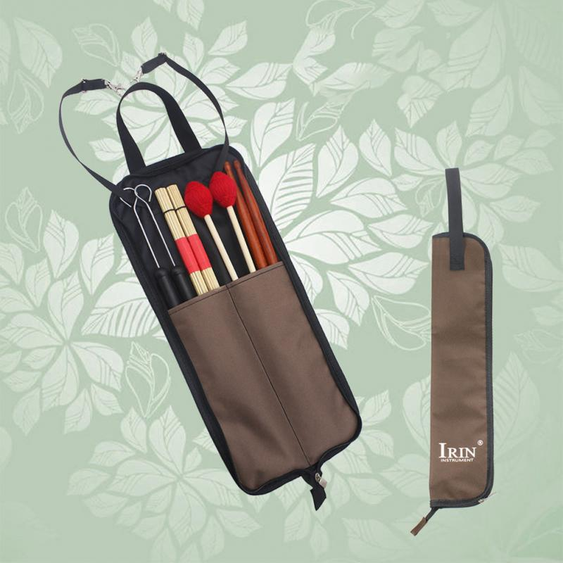 Drum Stick Bag Durable Waterproof Storage Pouch Portable Drummer Accessories
