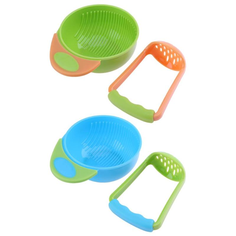 Baby Feeding Bowl Set Children Nursing Bowl Fruit Food Box Fruit Feeder Food Grinder Cook For Kids Baby Care Accessories Gadget
