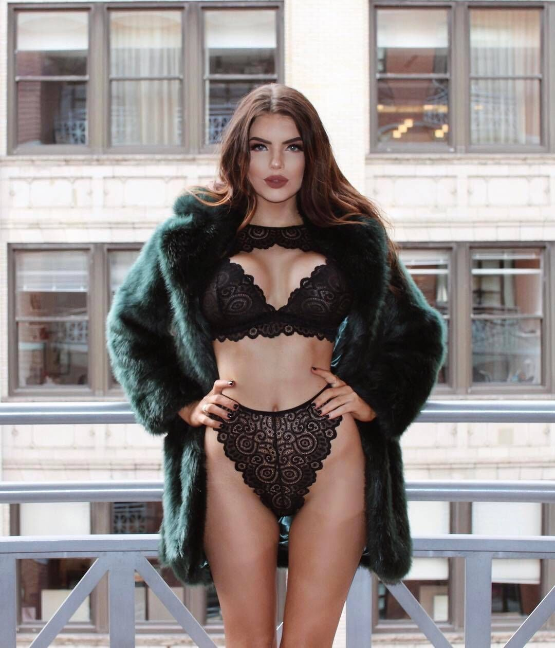 CWXANS sexy   bra     set   hot women floral lace transparent push up halter lingerie bralette wire free breathable hollow out underwear