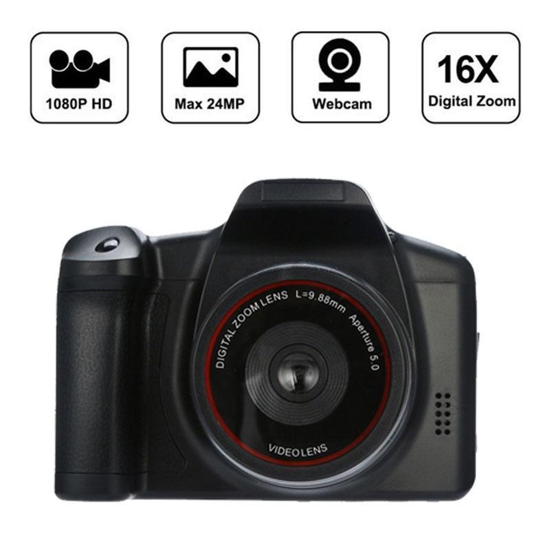 1080P видеокамера Портативная цифровая камера 16X цифровой зум de видеокамеры профессиональные