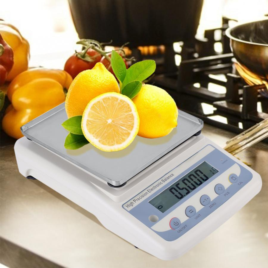 1pc Electronic High Precision Kitchen Baking Scale Industrial Scales 100 240V Bascula Cocina Bilancia Pesapersone weight