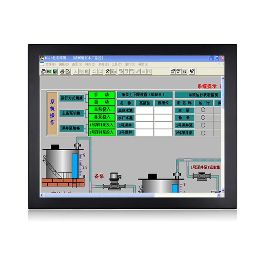 15 Inch Fanless Taiwan 5 Wire Touch Screen ,Industrial Panel PC ,Intel Celeron J1800,Win10 Or Linux All In One PC,[DA08W]