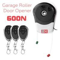 110 V 600N гаражная роликовая дверь автоматическая открывалка мотор с 3 пультом дистанционного управления электрический сервомотор для прокат