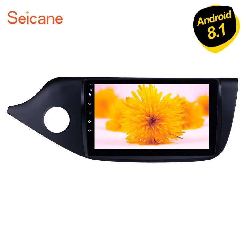 Seicane Android 8,1 9 2din сенсорный экран GPS Navi авторадио автомобиля для 2012 2013 2014 Kia Ceed LHD мультимедийный плеер с 1080 P TPMS