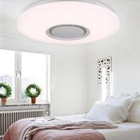 RGB LED Ceiling Light bluetooth Speaker Music 36W Led Ceiling Lamp Smart APP Remote Control For Kids Bedroom Living Room Decor