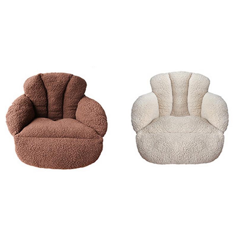 Épaississement en peluche chaud coussin bureau coussin Tatami étage étudiant chaise coussin pour canapé coussin pour lit dos soutien