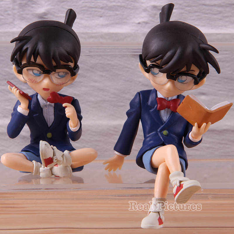 Hot Toy Anime Detective Conan Case Closed Conan Edogawa Action Figure Toy Model Collection