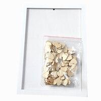 Drop Top Wooden Frame Alternative Wedding Guest Book