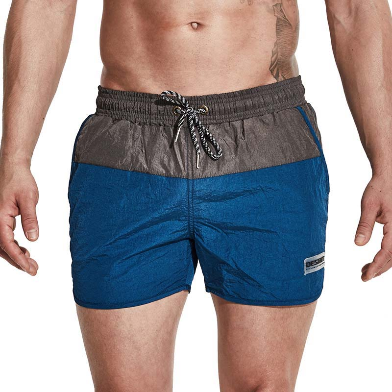 Desmiit Brand Men's   Board     Shorts   Quick Dry Surfing Beach Men's Swimming   Shorts   Athletic Sport Running Gym Male   Short   Sweatpants