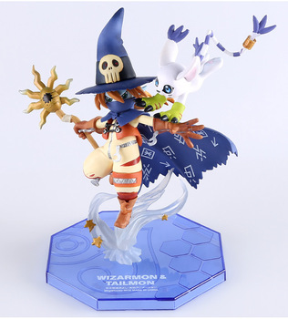 Figura de Wizardmon/Wizarmon Digimon(15 cm) Digimon