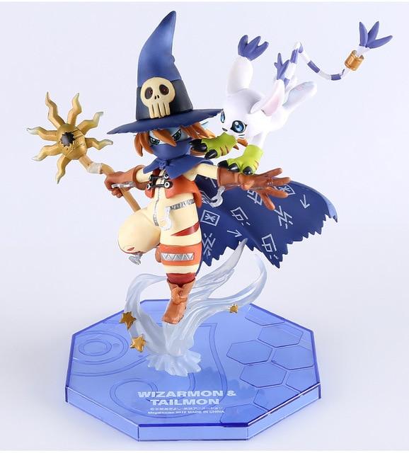 Figura de Wizardmon/Wizarmon Digimon(15 cm) Digimon