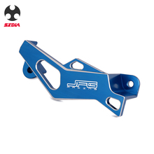 CNC Rear Brake Caliper Guard For Yamaha YZ 125 250 YZF YZ250F YZ450F WR250F WR250R WR250X WR450F WRF 450 Blue Motorcycle 270mm blue front floating brake disc rotor adaptor for yz yzf wr wrf 250 400 450 motorcycle supermoto motard motocross