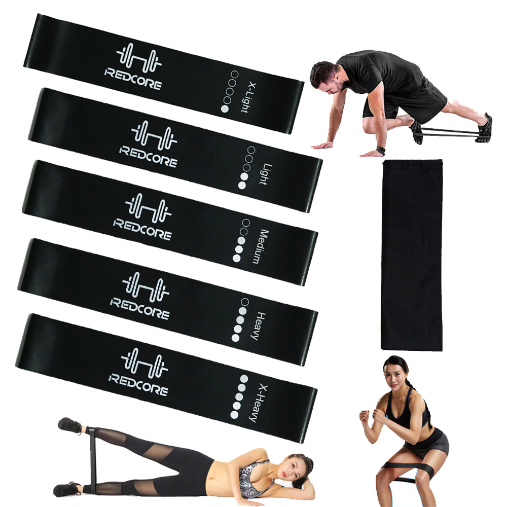 XC 5 Level Workout Resistance Bands