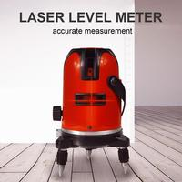 360 Laser Lever 5 Lines Points Self Leveling Rotary Horizontal Vertical Professional Automatic Construction Measuring Tools